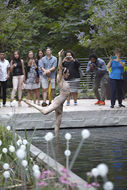 Atlanta Botanical Garden dance show