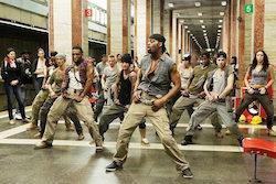 Dave Scott in hip-hop subway scene