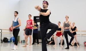 Angel Corella teaching the Pennsylvania Ballet