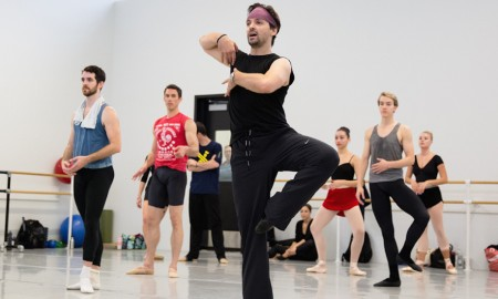 Angel Corella teaching the Pennsylvania Ballet