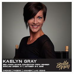BellaMoxi Faculty Member Kaelyn Gray.