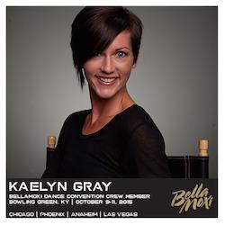 BellaMoxi Faculty Member Kaelyn Gray.