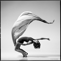 Jennie Clutterbuck. Photo by Lois Greenfield.