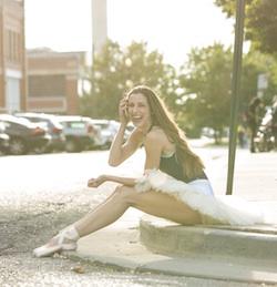 Ballet West's Allison DeBona.