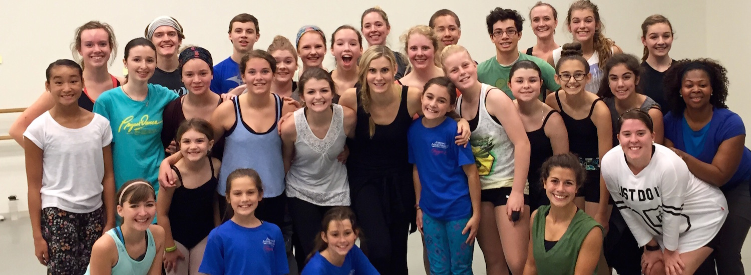 Dance Informa Editor Deborah Searle with her students from Project Dance Atlanta 2015