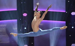 Jim Nowakowski performing a solo on SYTYCD.