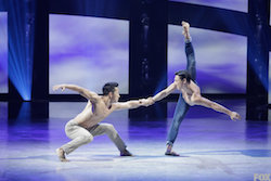 Jim Nowakowski and Alex Wong perform a Contemporary routine choreographed by Travis Wall on SYTYCD