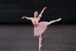 New York City Ballet's Emilie Gerrity in Balanchine's 'Raymonda Variations'
