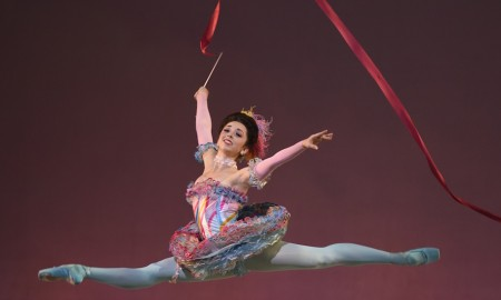 San Francisco Ballet's Jordan Hammond in Erik Tomasson's 'The Nutcracker'.