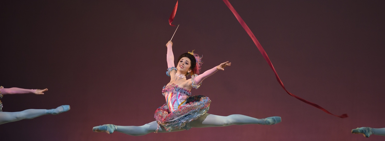 San Francisco Ballet's Jordan Hammond in Erik Tomasson's 'The Nutcracker'.