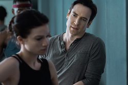 Sarah Hay and Sascha Radetsky in 'Flesh and Bone'.