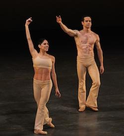 Sascha Radetsky and Paloma Herrera in 'Clear'