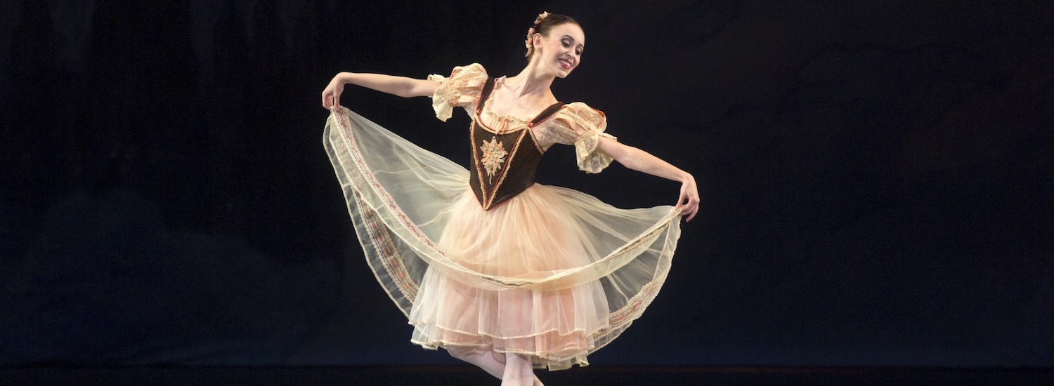 Skylar Brandt in the peasant pas de deux from 'Giselle'.