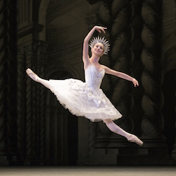 Skylar Brandt as the Diamond Fairy in 'The Sleeping Beauty'.