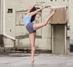 Dance Theatre of Harlem's Alison Stroming.