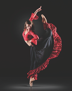 spanish dance skirt