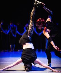Performers in Joffrey Ballet School's hip hop program.