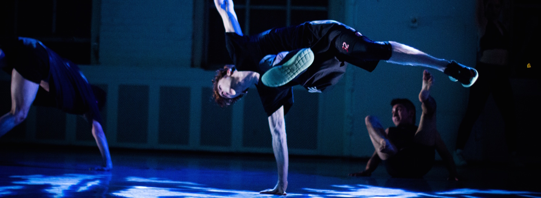 Dancers in Joffrey Ballet School's hip hop program.