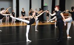 Joffrey Ballet Summer Intesive.