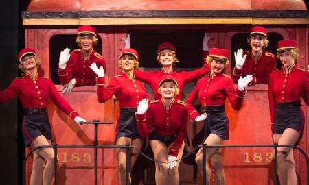 'Running Wild' from the national tour of 'Bullets Over Broadway'. Photo by Murphy Made Photography.
