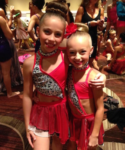 Tate McRae and Jaycee Wilkins first met at NYCDA in NYC in 2013.