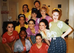 Vincas Greene with Brenau University dance students. Photo courtesy of Greene.
