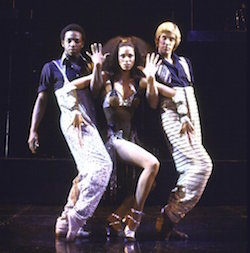Actors Hinton Battle, Rima Vetter and Charles Ward in a scene from the Chicago replacement cast of the Broadway musical Dancin'. Photo courtesy of Battle.