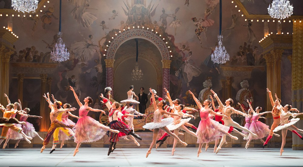 Boston Ballet in Mikko Nissinen's 'The Nutcracker'. Photo by Rosalie O'Connor.