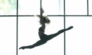 Caitlin Kinney, co-creator and choreographer for CLI Studios. Photo by Rob Daly.