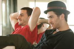 Co-founders Jon Arpino and Teddy Forance. Photo courtesy of CLI Studios.