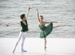 Mary Carmen Catoya and Kleber Rebello - Fire Island Dance Festival 2015. Photo by Whitney Browne.