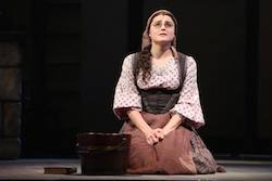 Melanie Moore plays Chava in 'Fiddler on the Roof'. Photo by Joan Marcus.
