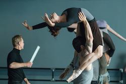 Sascha Radetsky and Sarah Hay in 'Flesh and Bone'. Photo courtesy of Starz