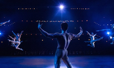 Sascha Radetsky in 'Flesh and Bone'. Photo by Myles Aronowitz. Photo courtesy of Starz.