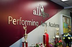 Allegro Performing Arts Academy. Photo courtesy of Allegro.