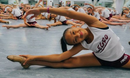 A student at Allegro Performing Arts Academy. Photo by John Roque.