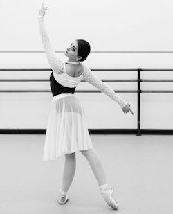 Dancer Kathryn Morgan. Photo by Erin Kestenbaum.