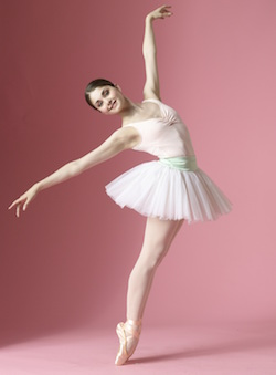 Dancer Kathryn Morgan. Photo by Nathan Sayers.