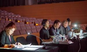 EDT judges. Photo by Herber Pelayo.