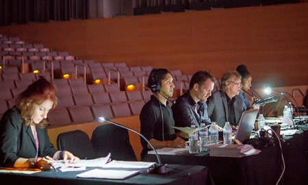 EDT judges. Photo by Herber Pelayo.