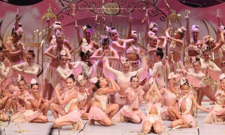 Students from CK DanceWorks at competition. Photo by IT Cinema