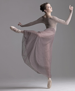 A ton of dancers have their eyes on the Modern Romance Windswept Love Skirt. Photo courtesy of Capezio.