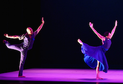 Alvin Ailey American Dance Theater's Matthew Rushing and Linda Celeste Sims