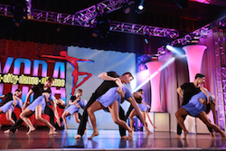 Dancers perfomring at New York City Dance Alliance. Photo courtesy of NYCDA.