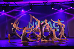 Dancers performing at Onstage New York. Photo courtesy of Onstage.