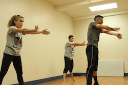 Step One International students work closely with top NYC instructors. Photo by Darin Chumbley