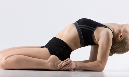 Yoga poses for dancers