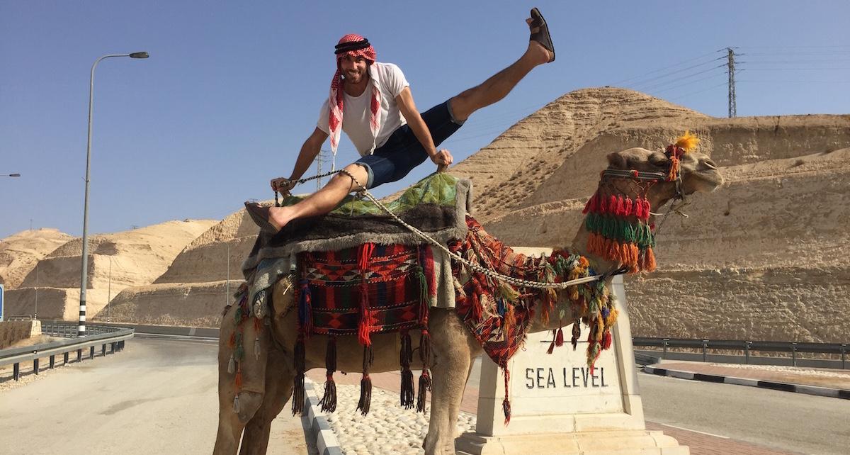 DanceMotion USA BODYTRAFFIC Residency, Israel, Dead Sea, BODYTRAFFIC's journey to Dead Sea. Photo by Guzman Rosado.