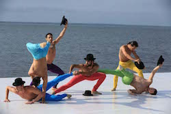 Ballet Hispanico performing at Fire Island Dance Festival 2015. Photo by Daniel Roberts