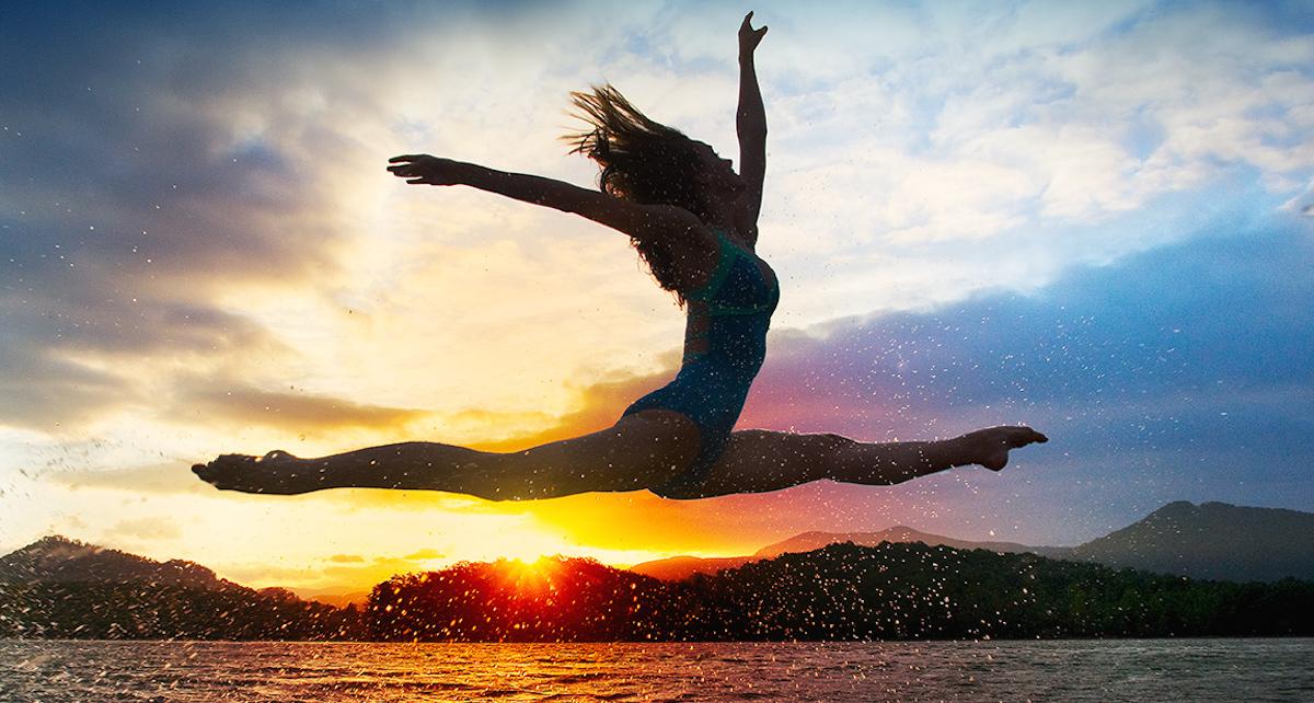 Dancer Maggie Ellington. Photography by Richard Calmes.